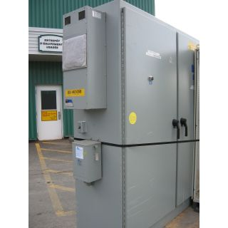 "ELECTRICAL CABINET - 90"" X 120"" X 24"""