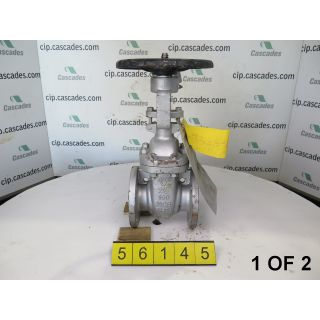 "GATE VALVE MANUAL - BERIC  703010 -  2.500"" - USED"