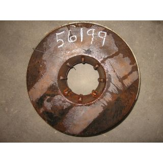 "Item 184: Parts #: RC04048A-1012 - Taper Bore Type - BACK PLATE - GOULDS 3196 MTX - 10"" -"