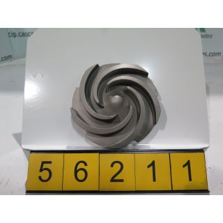 IMPELLER - GOULDS 3196 STX - 1 x 1.5 - 8 - Item 101 - Parts #: 76793-1216