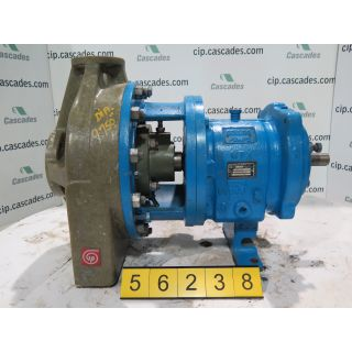 PUMP - GOULDS NM 3196 MTX - 1 X 2 - 10 - VINYLESTER - Fiberglass - FRP Process Pumps