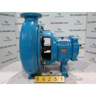 GOULDS PUMP 3198 MTX - 3 X 4 - 13 - PFA Teflon Lined Ductile Iron