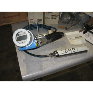 HYDROSTATIC LEVEL MEASUREMENT - ENDRESS + HAUSER DELTAPILOT S DB53A - MODEL: DB53A-ST71FA11GE20