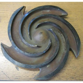 IMPELLER - GOULDS 3196 MTX - 1 X 2 - 10 - Item 101 - Parts #: B10009-1204