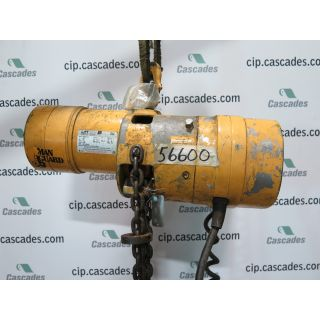 ELECTRIC CHAIN HOIST - 1 TON - BUDGIT - D324-2R