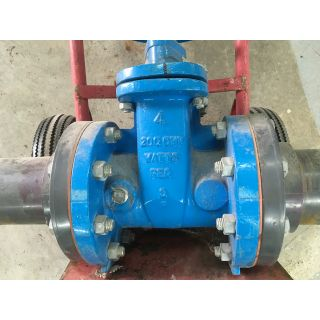 "GATE VALVE MANUAL - WATTS REGULATOR - 4"" - USED"