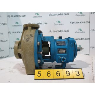 PUMP - GOULDS NM 3196 STX - 1 x 1.5 - 8 - VINYLESTER - Fiberglass - FRP Process Pumps