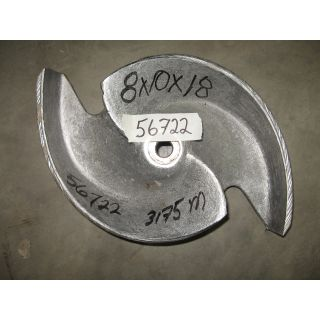 IMPELLER - GOULDS 3175 MT - 8 x 10 - 18 - Item 101 - Parts #: 259-68-1203