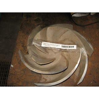 IMPELLER - GOULDS 3196 XLTX - 8 x 10 - 15G - Item 101 - Parts #: 256-122-1203