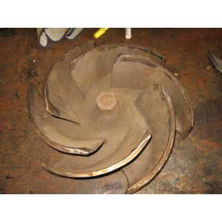 IMPELLER - GOULDS 3196 XLTX - 8 x 10 - 13 - Item 101 - Parts #: 103-612-1203 - Old Style