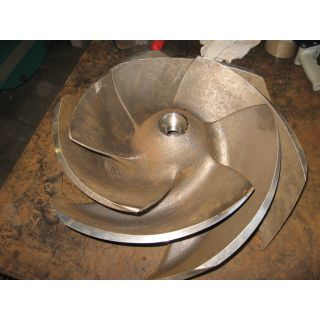 IMPELLER - GOULDS 3175 L - 12 x 14 - 18 - Item 101 - Parts #: 259-7-1203
