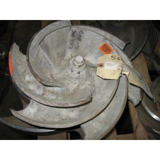 IMPELLER - GOULDS 3196 XLTX - 6 x 8 - 15 - Item 101 - Parts #: 256-116-1203