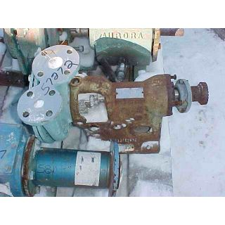 PUMP - GOULDS 3715 - 1 x 1.5 - 7