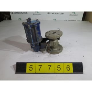 "BALL VALVE - JAMESBURY - 1.250"" - USED"