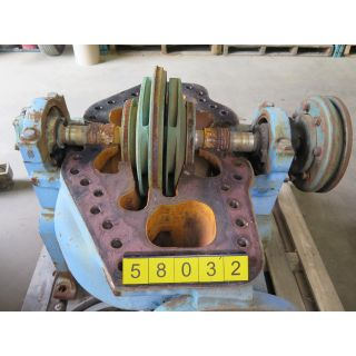 PUMP - GOULDS 3316 L - 6 X 8 - 17 - USED