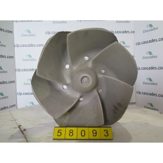 IMPELLER - GOULDS 3175 LT - 18 x 18 - 22 - Item 101 - Parts #: 261-26-1216