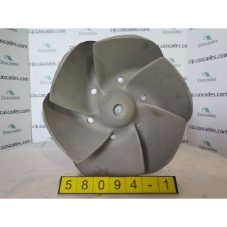 1 of 2 - IMPELLER - GOULDS 3175 L - 18 x 18 - 22 - Item 101 - Parts #: 261-26-1216