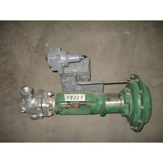 "LINEAR GLOBE VALVE - FISHER ES - 9153232 - 1"" NPT"