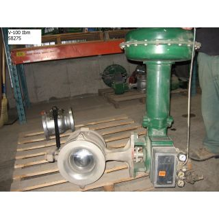 "V-BALL VALVE - FISHER - V100 - 8"" - STORE SURPLUS"
