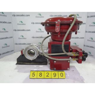 V-BALL VALVE - MASONEILAN - 3""