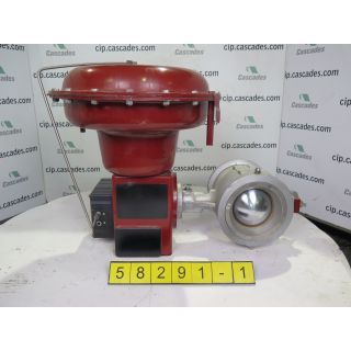 1 of 2 V-BALL VALVE - MASONEILAN - 6""