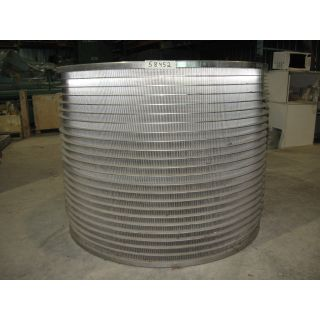 PRESSURE SCREEN BASKET - VOITH 30 V.S. - BASKET SLOTTED 0.006""