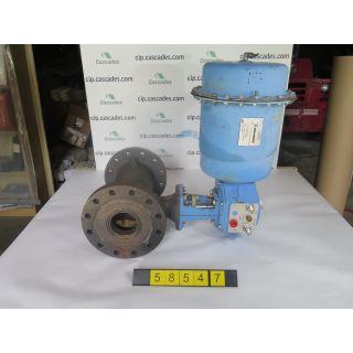 "USED PLUG VALVE - Eccentric rotary plug valve - JAMESBURY - 6"" - FOR SALE"