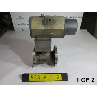 "BALL VALVE - JAMESBURY - 3"" - USED - 1 OF 2"