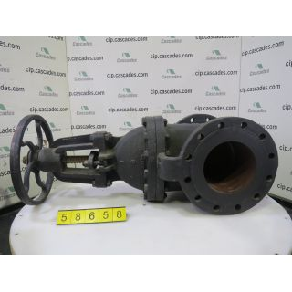 "GATE VALVE MANUAL - DAVIS - 8"" - STORE SURPLUS"