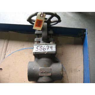 "GATE VALVE MANUAL - NEWCO 41 - 2"" NPT"