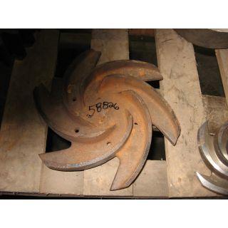 IMPELLER - GOULDS 3196 MTX - 3 x 4 - 13 - Item 101 - Parts #: B10541-1013