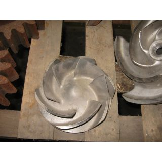 IMPELLER - GOULDS 3196 MTX - 4 x 6 - 13 - Item 101 - Parts #: 101-500-1203