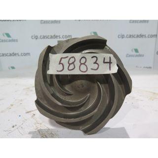 IMPELLER - GOULDS 3196 MTX - 3 x 4 - 10 - Item 101 - Parts #: 100-597-1203