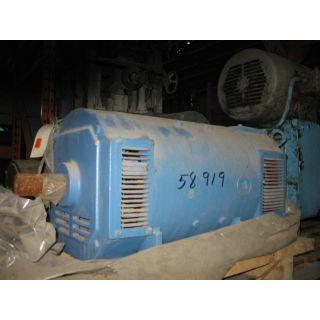 MOTOR - DC - US MOTOR - 60 HP - 2500 RPM - 500 V ARM. - 150 / 300 V FIELD