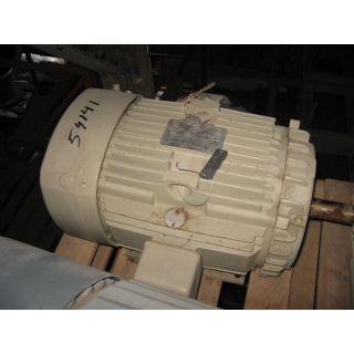 MOTOR - AC - G.E. - 10 HP - 1200 RPM - 575 V - TEFC