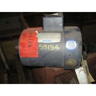 MOTOR - AC - LEESON - .75 HP - 1800 RPM - 575 VOLTS