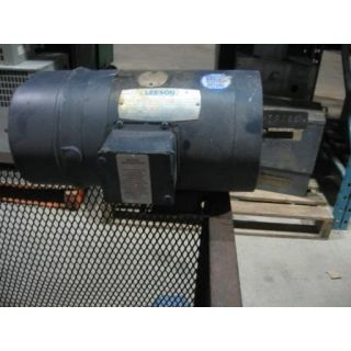 MOTOR - AC - LEESON - 3/4 HP - 1800 RPM - 575 VOLTS