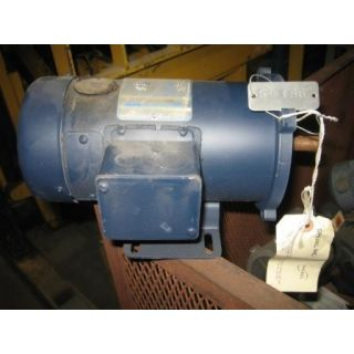 MOTOR - DC - LEESON - 1/2 HP - 1750 RPM - 180 VOLTS