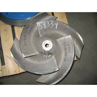 IMPELLER - GOULDS 3175 L - 10 x 12 - 22 - Item 101 - Parts #: 259-110-1203