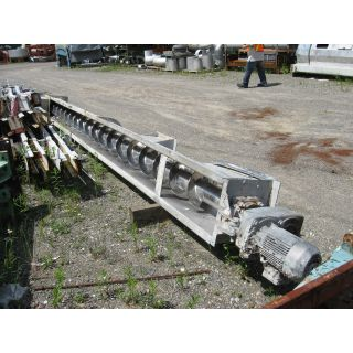 "CONVEYOR (SCREW) - 222"" (18.5') X 13"""