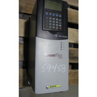 DRIVE - AC - 5 HP - ALLEN-BRADLEY POWER FLEX 700 - MODEL: 20B E 6P1 A0