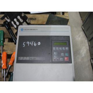DRIVE - AC - 5 HP - ALLEN-BRADLEY - 1336 PLUS - MODEL: 1336S-CWF50-AN-FR4