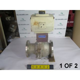 "BALL VALVE - VELAN - 6"" - USED - 1 OF 2"