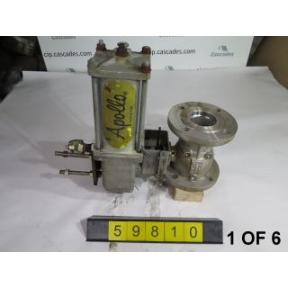 "BALL VALVE - APOLLO - 3"" - USED - 1 OF 6"