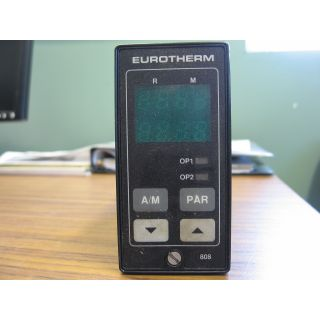 TEMPERATURE CONTROLER - EUROTHERM CONTROLS - MODEL: 808