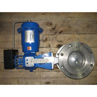 "V-BALL VALVE - NELES-JAMESBURY R-21 - 6"" - VALVE REFURBISHED"