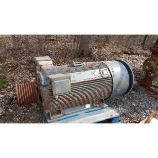 Pre-Owned - AC - MOTOR - SIEMENS - 250 HP - 1200 RPM - 4000 VOLTS - FOR SALE