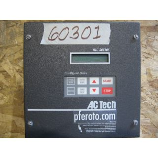 DRIVE - AC - 2 HP - LENZE (AC TECH) - MODEL: M1420C