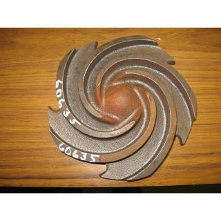 IMPELLER - GOULDS 3196 ST - 1 x 1.5 - 8 - Item 101 - Parts #: 76779-1013