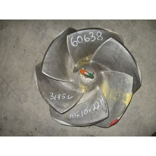 IMPELLER - GOULDS 3175 L - 18 x 18 - 22 - Item 101 - Parts #: 261-26-1203